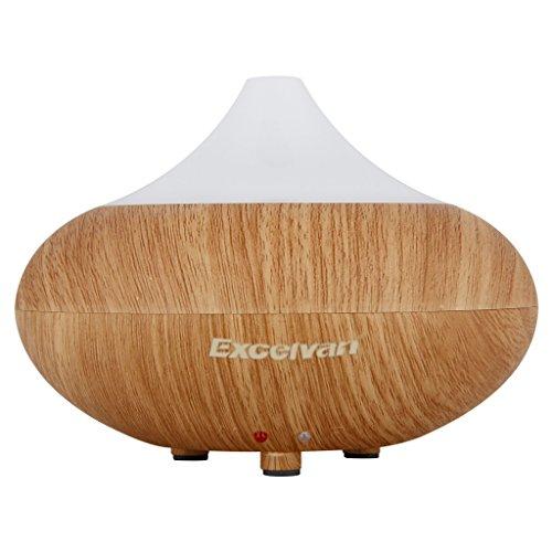 excelvan aroma diffuser led luftbefeuchter ultraschall. Black Bedroom Furniture Sets. Home Design Ideas